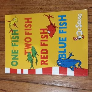 One Fish Two Fish Red Fish Blue Fish by Dr Seuss Childrens Book